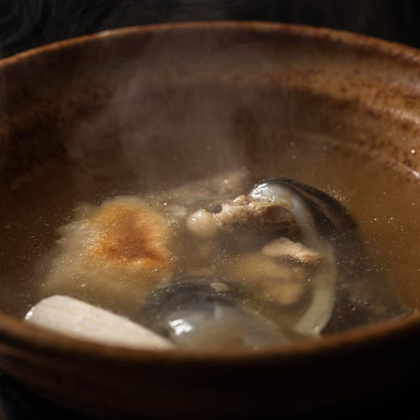 二色亭すずきの丸鍋付きすっぽんコース